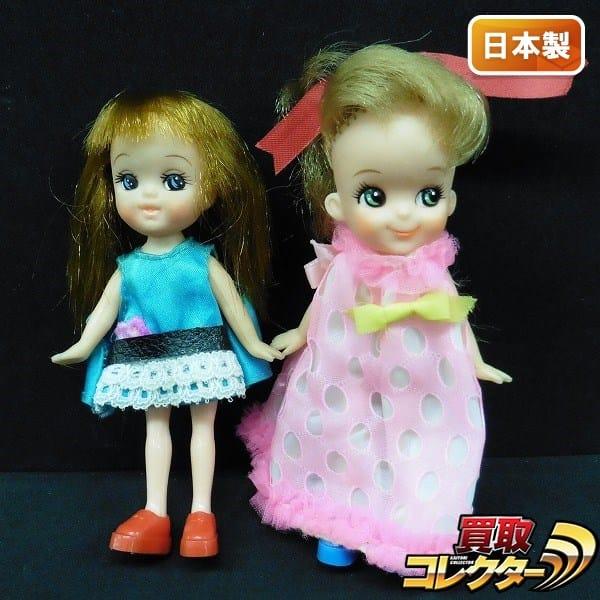チビッコメイト チーちゃん サッちゃん / ピンクドレス 茶髪