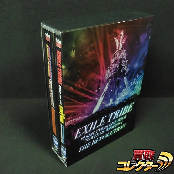 EXILE TRIBE PERFECT YEAR LIVE TOUR TOW 2014 DVD