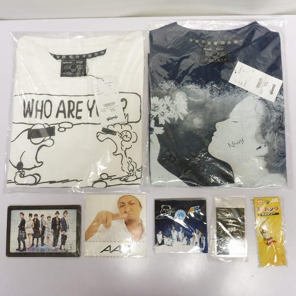 AAA グッズ 大量 え~パンダ根付 めがね ポスター Tシャツ 他_3