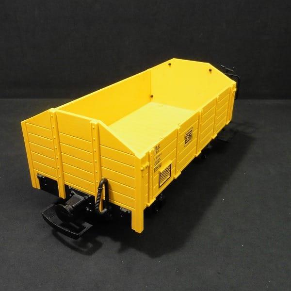 レーマン LEHMANN 鉄道模型 Gゲージ 貨車 / ゴンドラ 黄色 LGB_2