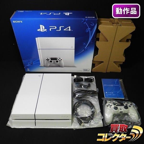 PS4 CUH-1200A B02 グレイシャーホワイト 500GB