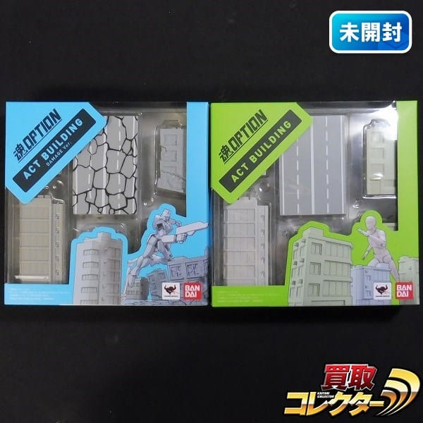 魂OPTION ACT BUILDING & DAMAGE BANDAI / 魂オプション