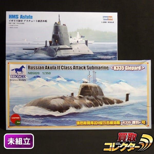 1/350 ホビーボス アスチュート級 ブロンコ アクラ級 K335