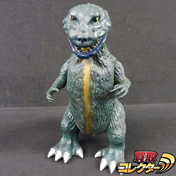 X-PLUS 組済品 エクスプラス 怪獣王 ゴジラ 緑バージョン