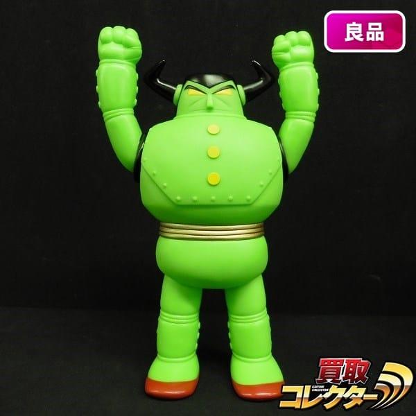 ノスタルジック・ヒーローズ ソフビ サターン 緑 / 鉄人28号