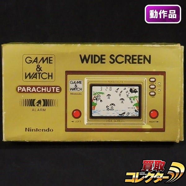 任天堂 ゲームウォッチ パラシュート / ワイドスクリーン