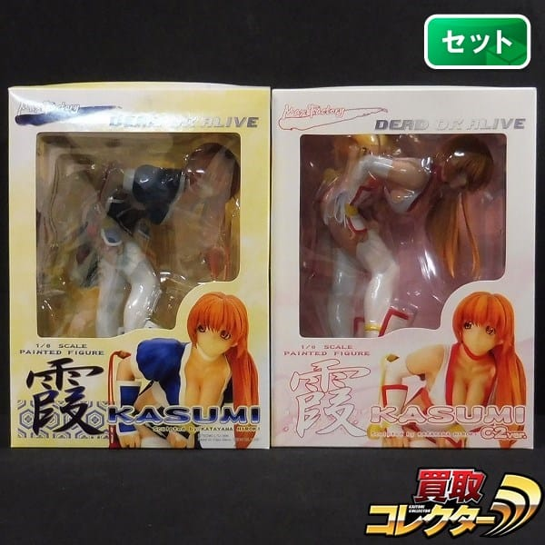 Max Factory DEAD OR ALIVE 1/6 KASUMI 霞 & 霞 C2ver._1