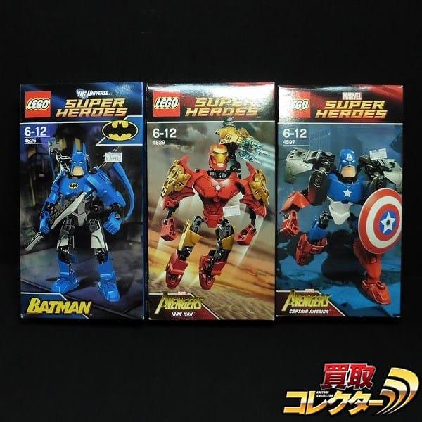 LEGO 組済 MARVEL DC スーパーヒーローズ バットマン 他
