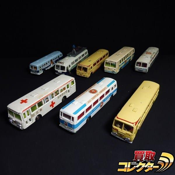 ヨネザワ ダイヤペット 各種バス ANA JAL TV中継車 献血車 他