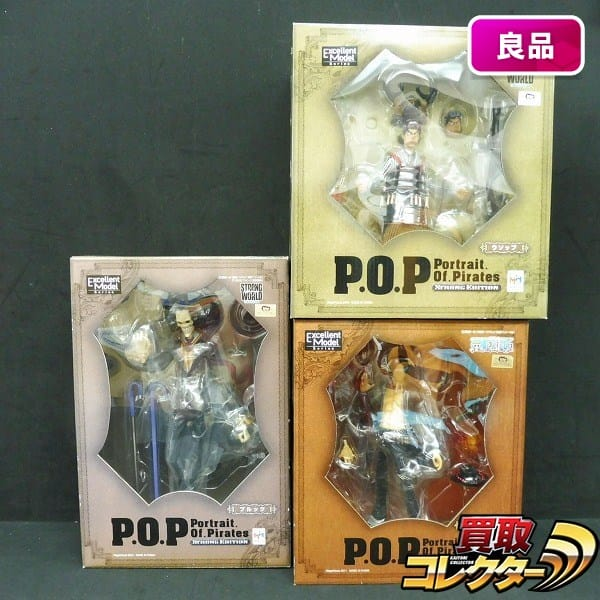 ONE PIECE P.O.P STRONG EDITION エース ウソップ ブルック/POP