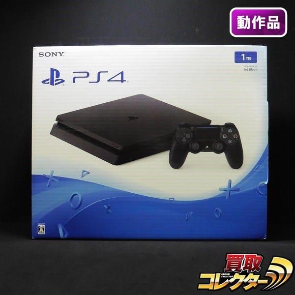 PS4 本体 CUH-2000B B01 1TB Jet Black / プレイステーション