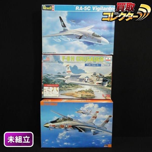 1/72 ハセガワ F-14A ウルフパック エッシー クルセイダー 他