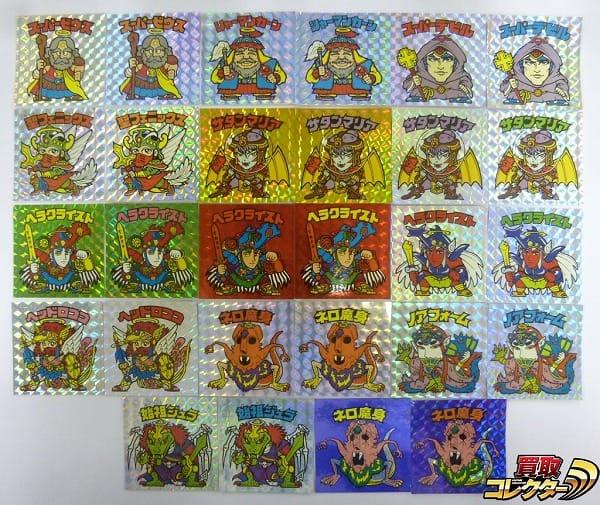 ビックリマン BMセレクション ヘッド レアロゴ 角プリズム 28種
