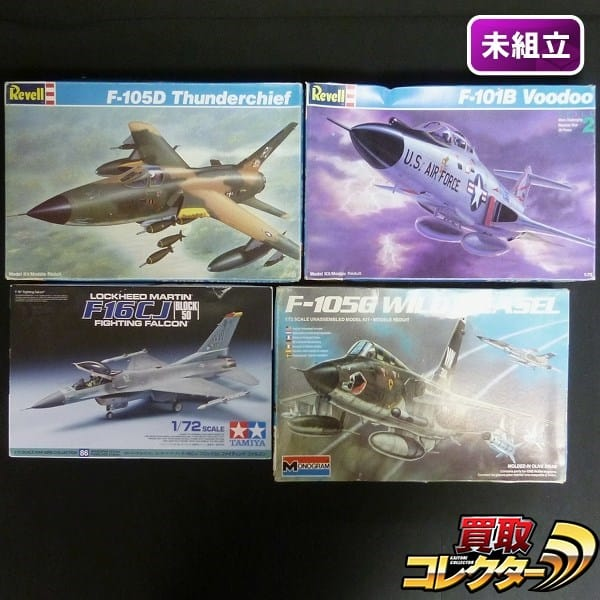 1/72 レベル F-105D サンダーチーフ F-101B タミヤ F-16CJ他