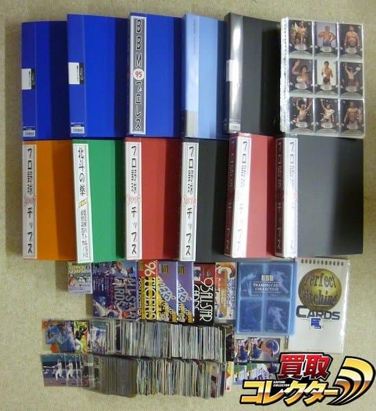 スポーツ カルビー BBM プロ野球 プロレス カード 大量