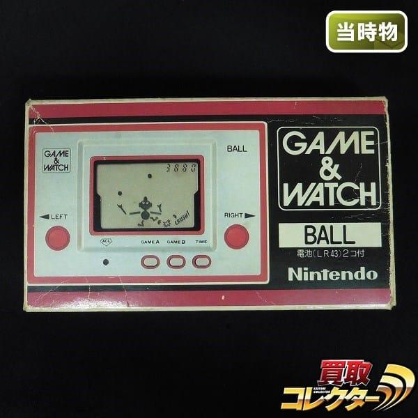任天堂 当時物 ゲームウォッチ BALL ボール AC-01 / 1980