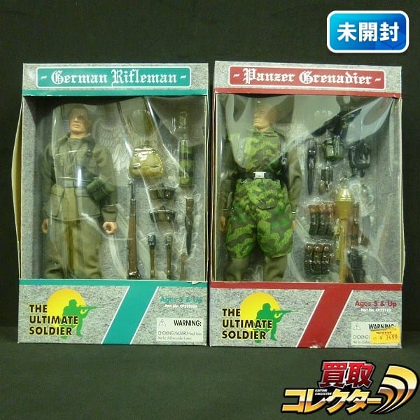 21st CENTURY TOYS The Ultimate Soldier 独軍 Rifleman 他