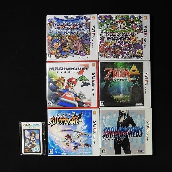 3DSソフト 6本 / ドラゴンクエストモンスターズ マリオカート 他
