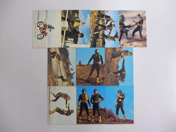 カルビー 旧 仮面ライダー カード 418-457 35枚 セミコンプ 本郷_3