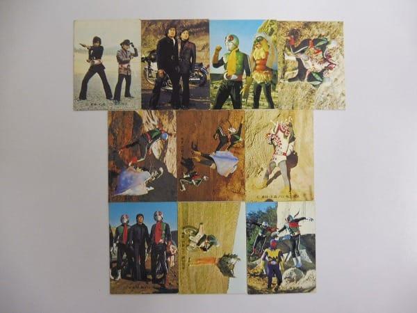 カルビー 当時物 旧 仮面ライダー カード 458-497 27枚 1号 2号_3