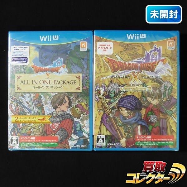 WiiU ソフト ドラゴンクエストX オンライン 2本