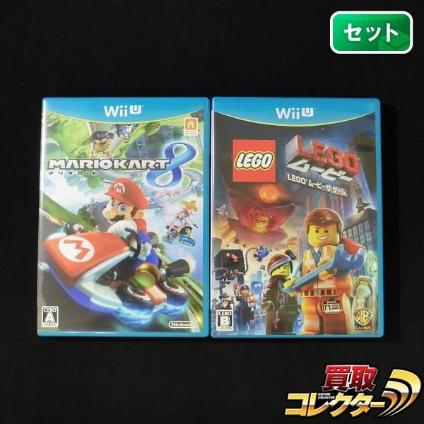 WiiU ソフト マリオカート8 + LEGO ムービーザ・ゲーム / 任天堂