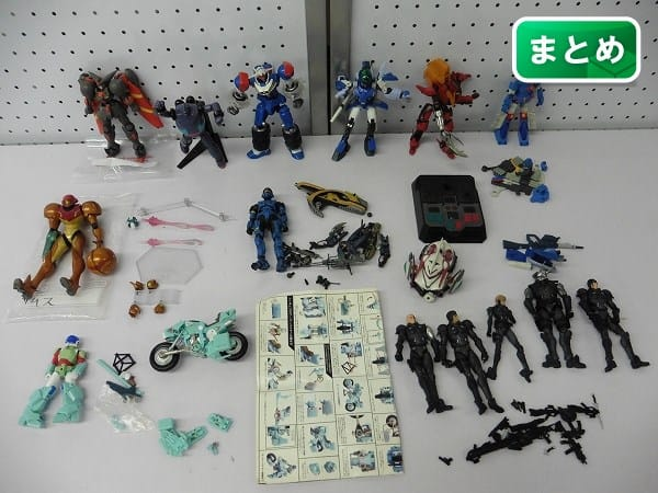 メカ系 アクションフィギュア まとめ ザブングル アップルシード
