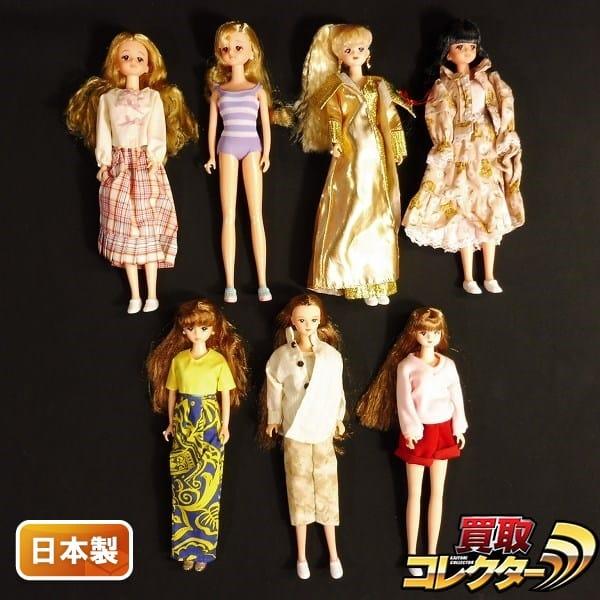 タカラ 日本製 ジェニー&フレンド ジェニー x4 アヤ リナ アベル