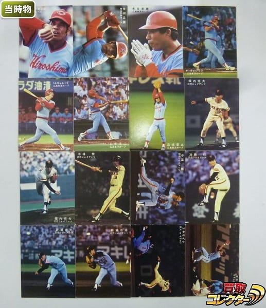 カルビー プロ野球カード 78年 広島東洋カープ 読売 エキサイト