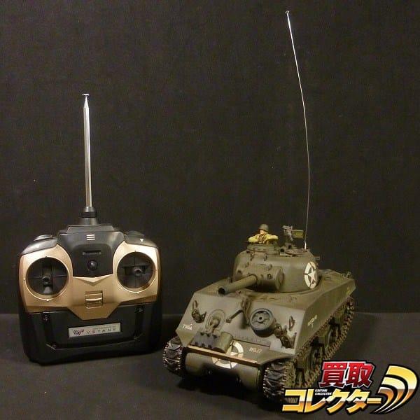 1/24 M4A3 RC シャーマン バトルタンク / VS TANK 戦車 HiTEC