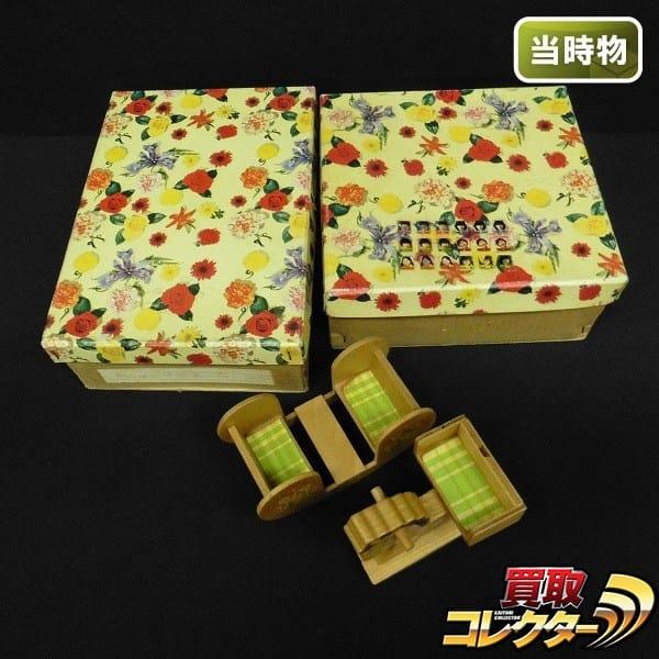木製 玩具 洋服タンス 姫鏡 木馬 他 当時物 / ミニチュア
