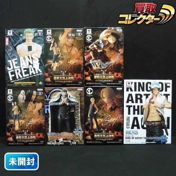 ONE PIECE DXF SC 造形王頂上決戦 JEANSFREAK ルッチ 他
