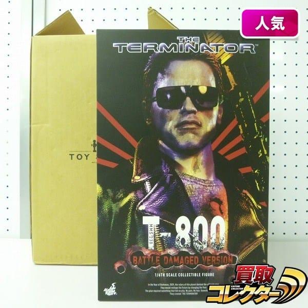 Hot Toys ムービーマスターピース 1/6 T-800 バトルダメージ版