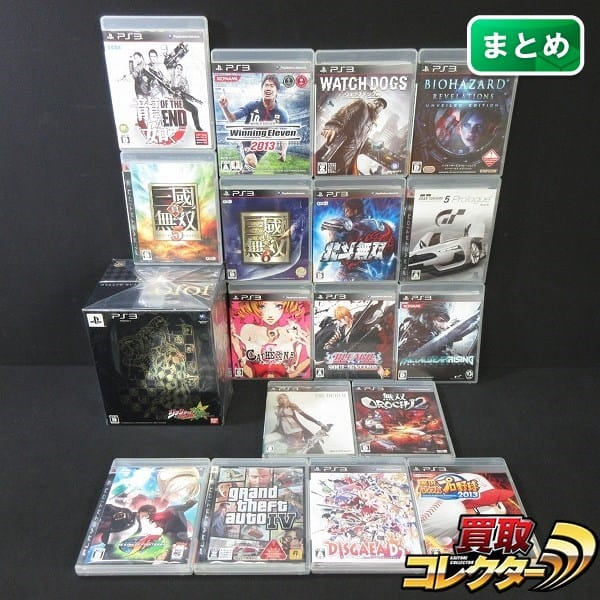 PS3 大量 ジョジョ 龍が如く GTA4 メタルギア 三國無双 他