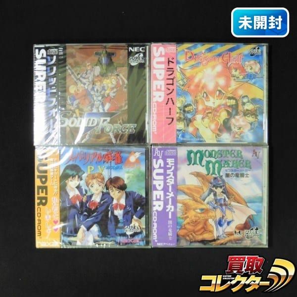 PCエンジン スーパーリアル麻雀 P5 他 / CD-ROM2