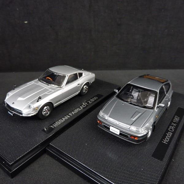 エブロ 1/43 ミニカーまとめて Honda CR-X 1987 他_2