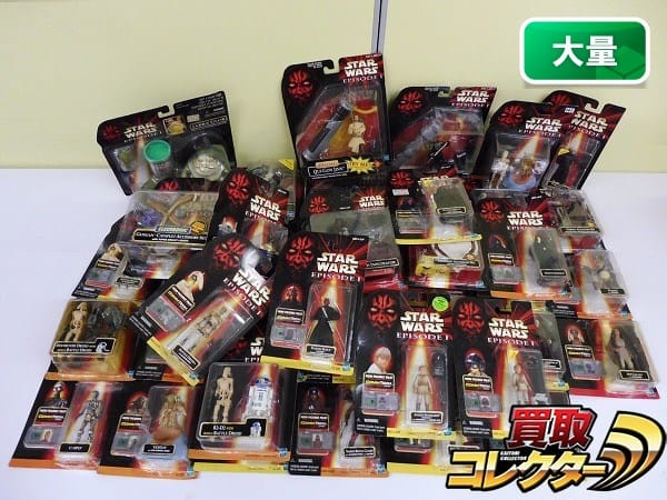 スターウォーズ ブリスターフィギュア 大量 ヨーダ C-3PO 他