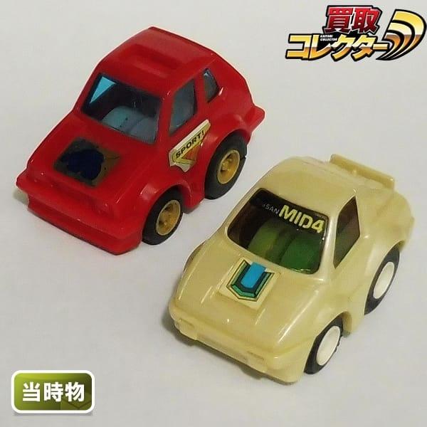 チョロQ A-46 VW ゴルフ GTI A-85 日産 MID4 日本製 当時物