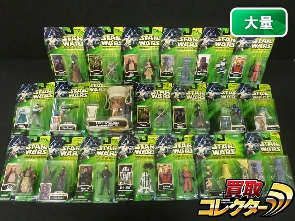STAR WARS figure POWER OF THE JEDI 他 ルーク R3-T7 等