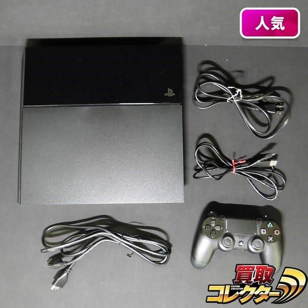 プレイステーション4 ジェットブラック 500GB 本体 CUH-1100A