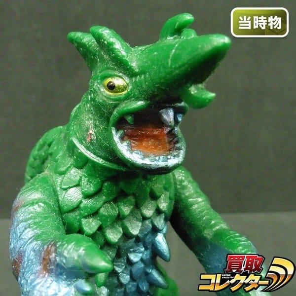 ポピー 当時物 キングザウルス シリーズ ソフビ ガラン / 怪獣