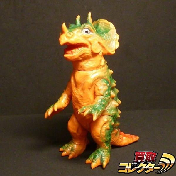 ヨネザワ ソフビ オリジナル怪獣 トリケラン ビンテージ