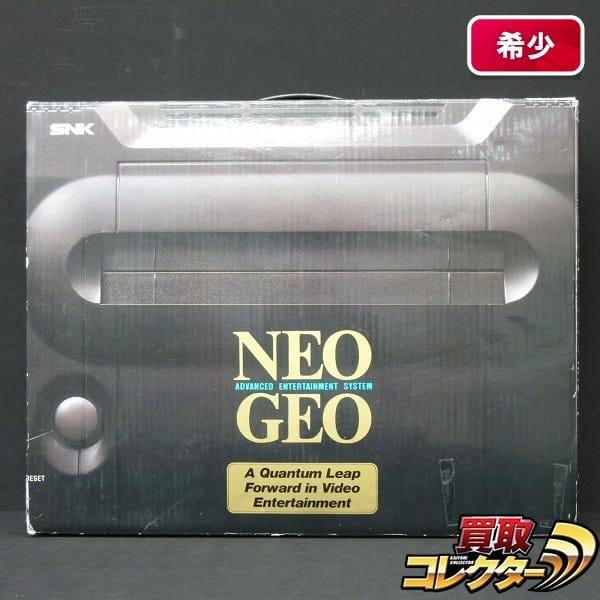 SNK NEO GEO ネオ・ジオ本体 メモリーカード付属 / ネオジオ