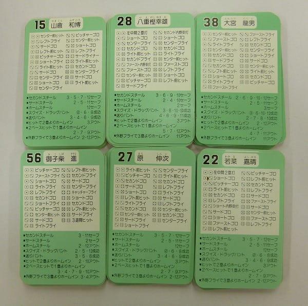 タカラ プロ野球 カード ゲーム 89年 読売 中日 阪神 広島 82枚_2