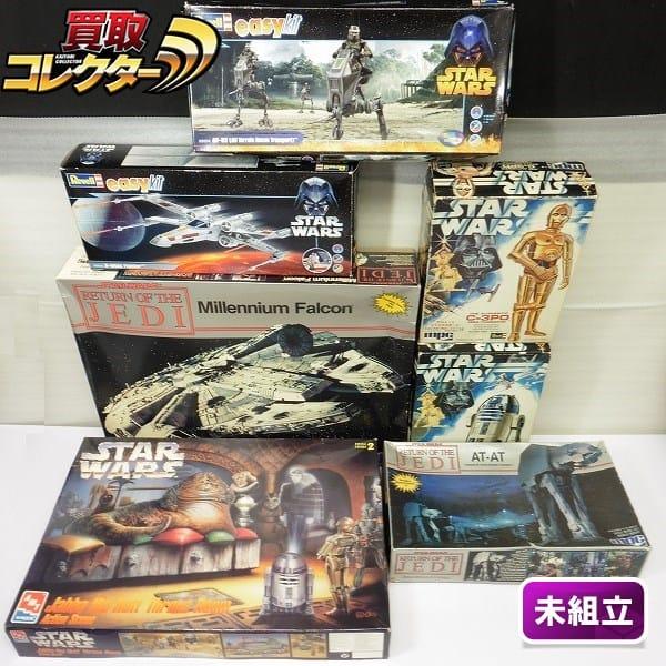 mpc レベル STARWARS ミレニアム・ファルコン AT-AT C-3PO他
