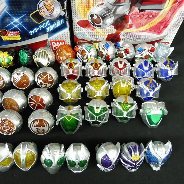 仮面ライダー なりきり玩具 大量 リング ウィザードライバー 他_3
