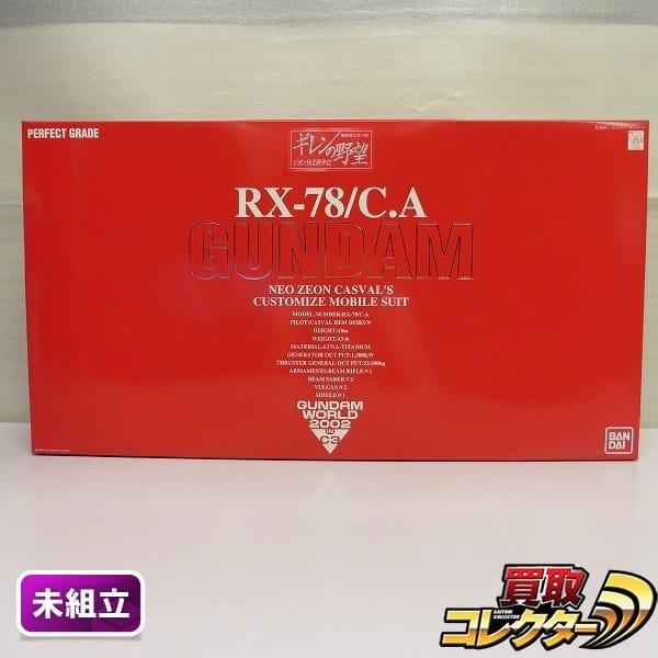 C3 2002限定 PG キャスバル専用 ガンダム / ギレンの野望