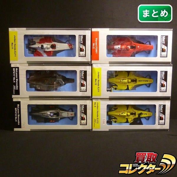 京商 ミニッツ F-1 ボディセット フェラーリF2001 ホンダEJ11 他
