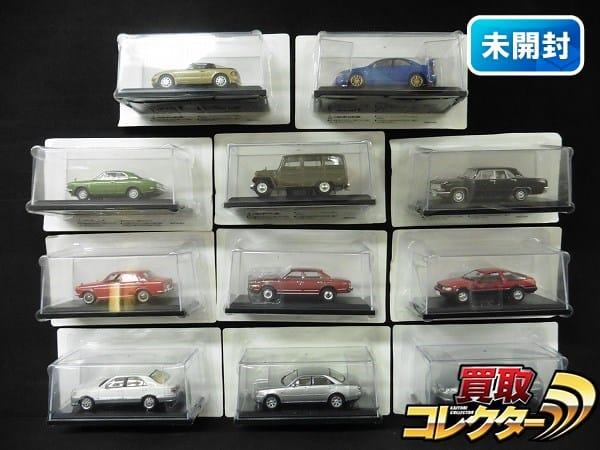 アシェット 1/43 国産名車コレクション 三菱ジープJ3 クラウン他