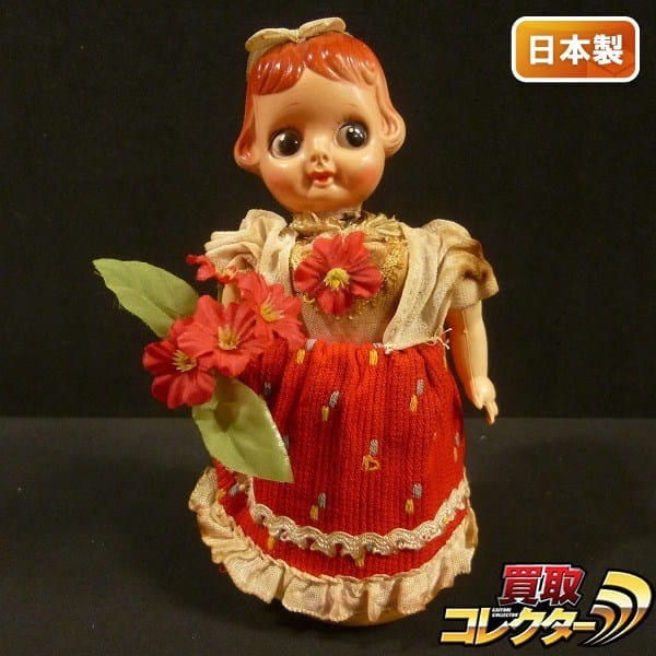 富士プレス工業 ゼンマイ ブリキ人形 / 日本製 レトロ玩具